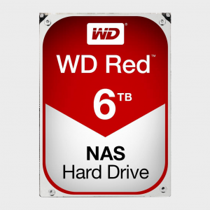 WD - Red 6TB NAS Hard Disk Drive (WD60EFRX)